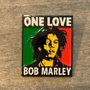 4 for $25 Bob Marley enamel pin